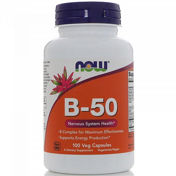 Витамин В-50 комплекс (B-Complex) 100 капсул