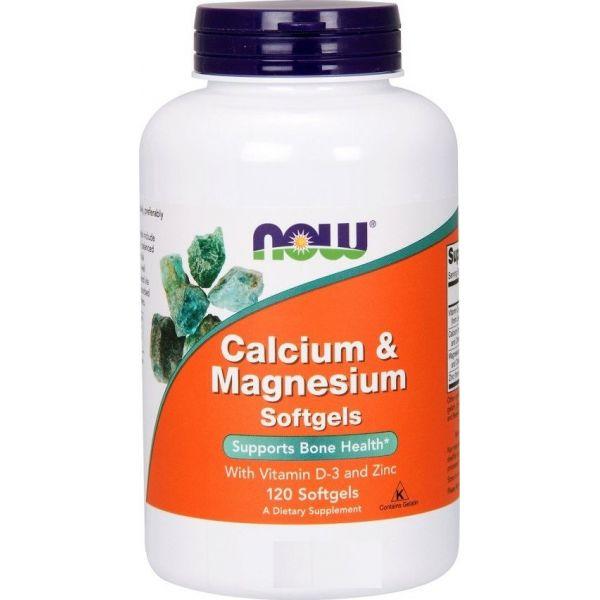 Кальций и магний (Calcium and Magnesium) 1000 мг/500 мг 120 капсул