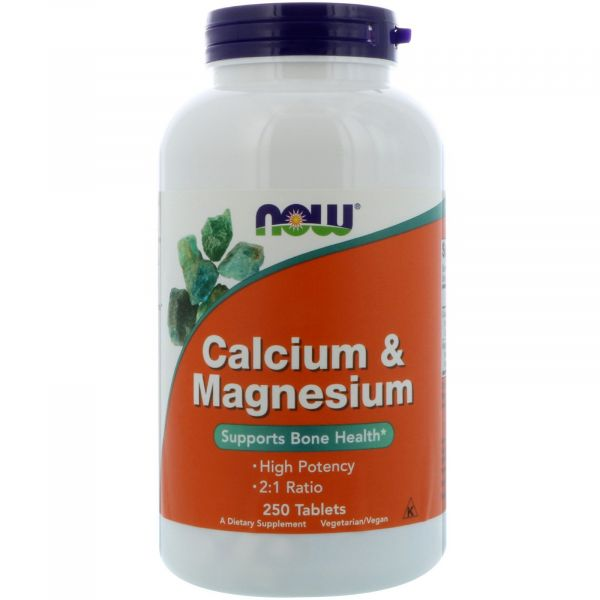 Кальций и магний (Calcium & Magnesium) 500/250 мг 250 таблеток