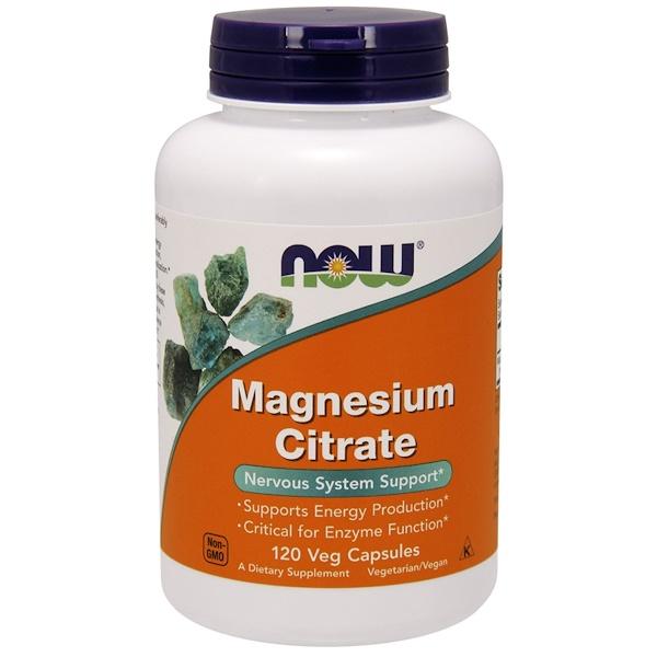 Цитрат магния (Magnesium Citrate) 133.33 мг 120 капсул