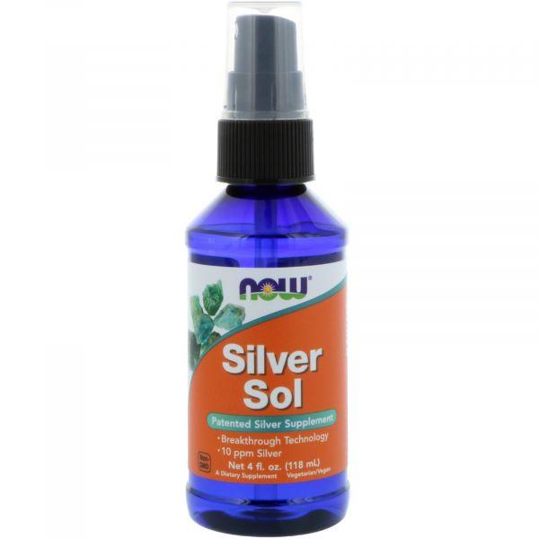 Коллоидное серебро (Silver Sol) 50 мкг 118 мл
