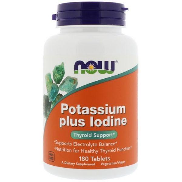 Калий и йод (Potassium Plus Iodine) 180 таблеток