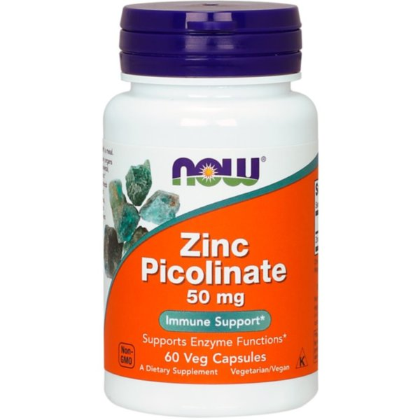 Пиколинат цинка (Zinc Picolinate) 50 мг 60 капсул