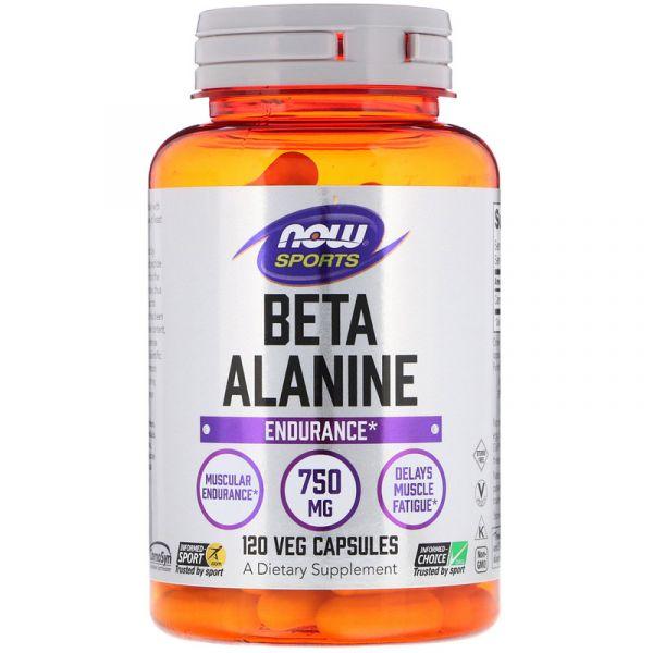 Бета-аланин (Beta-Alanine Sports) 750 мг 120 капсул