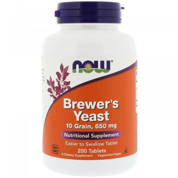 Пивные дрожжи (Brewer's Yeast) 650 мг 200 таблеток