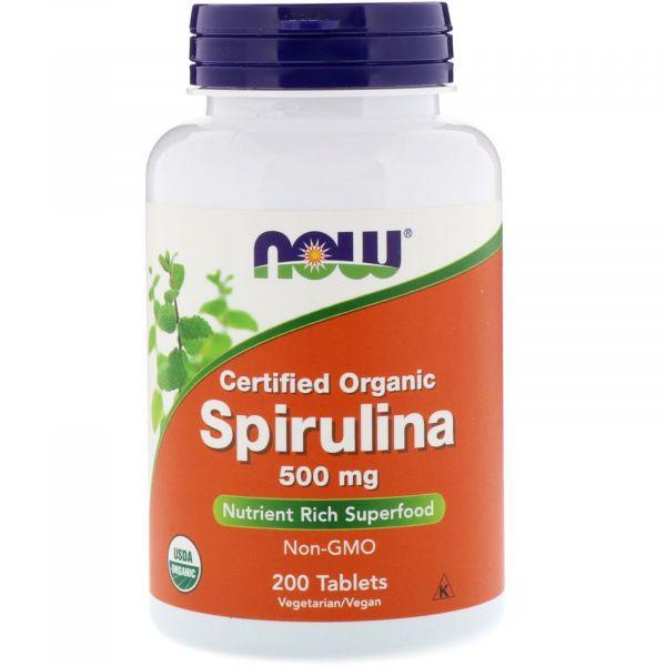 Спирулина органическая (Spirulina Organic) 500 мг 200 таблеток