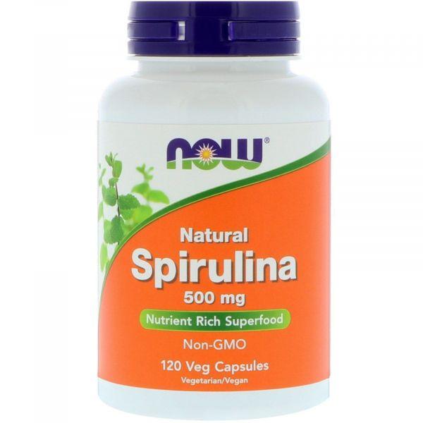 Спирулина органическая (Spirulina Organic) 500 мг 120 капсул