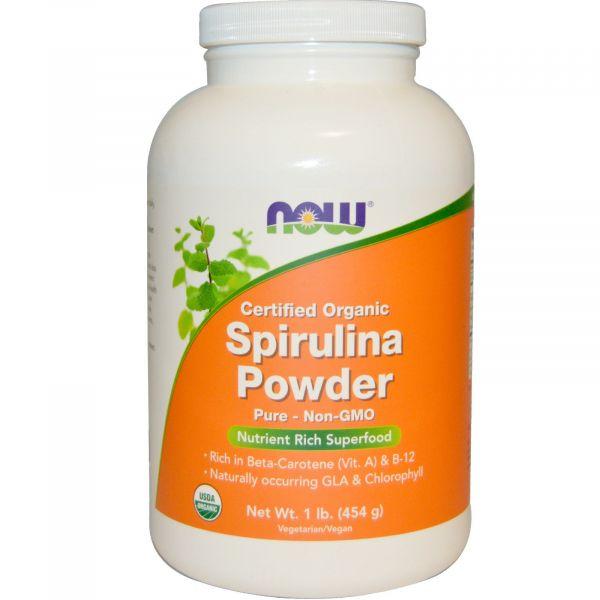 Спирулина органическая (Spirulina Powder) 454 г
