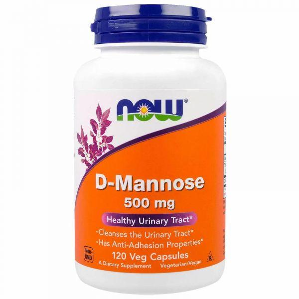 Д-Манноза (D-Mannose) 500 мг 120 капсул