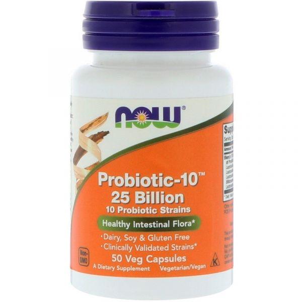 Пробиотики (Probiotic-10) 25 млрд КОЕ 50 капсул