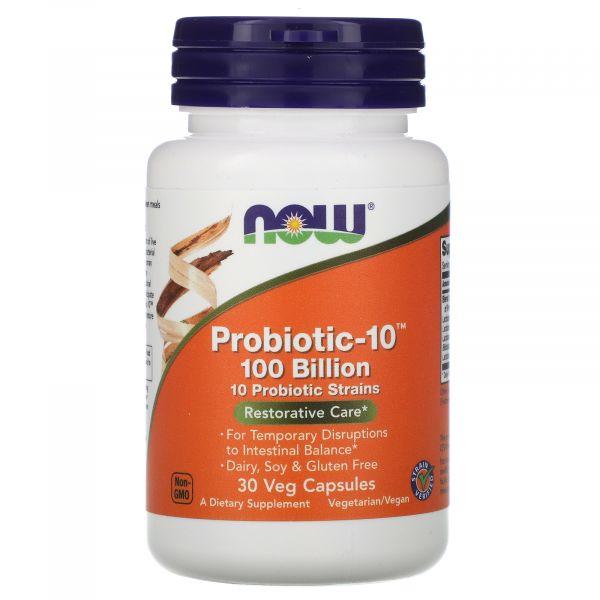 Пробиотики (Probiotic-10) 100 млрд КОЕ 30 капсул