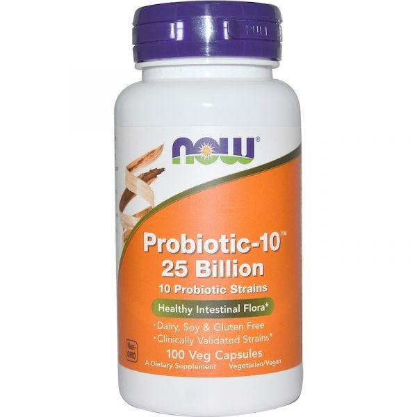 Пробиотики (Probiotic-10) 25 млрд КОЕ 100 капсул