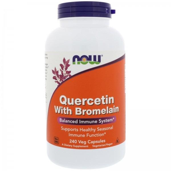 Кверцетин с бромелайном (Quercetin with Bromelain) 240 капсул