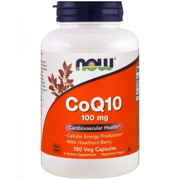 Коэнзим Q10 (CoQ10) 100 мг 180 капсул