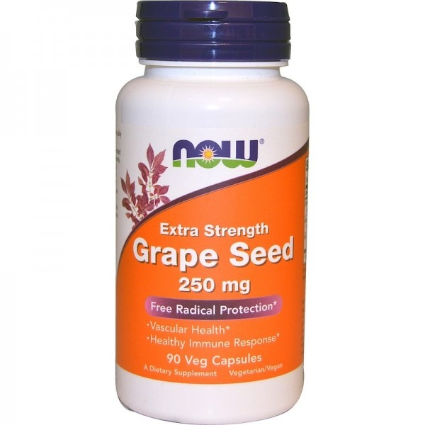 Экстракт виноградных косточек (Grape Seed) 250 мг 90 капсул