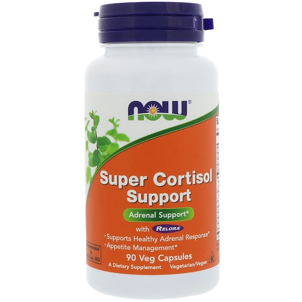 Снижение кортизола (Cortisol Support) 90 капсул