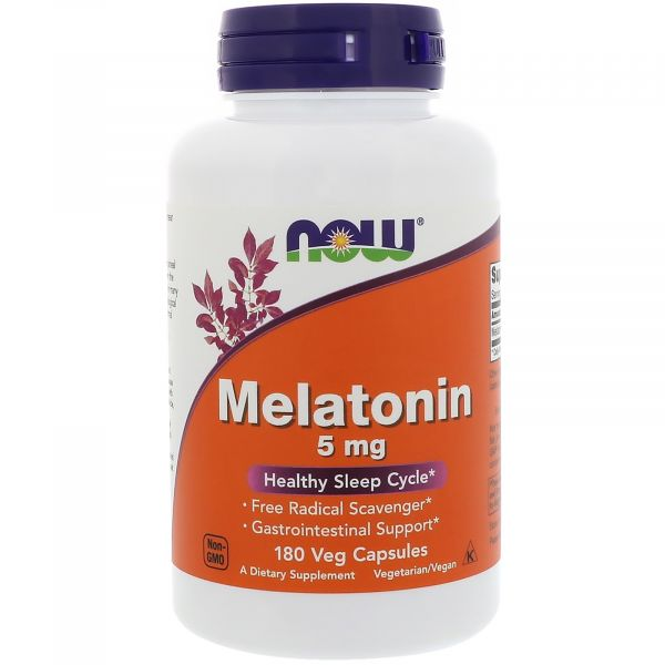 Мелатонин (Melatonin) 5 мг 180 капсул