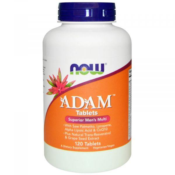 Мультивитамины для мужчин (Adam Tablets) 120 таблеток