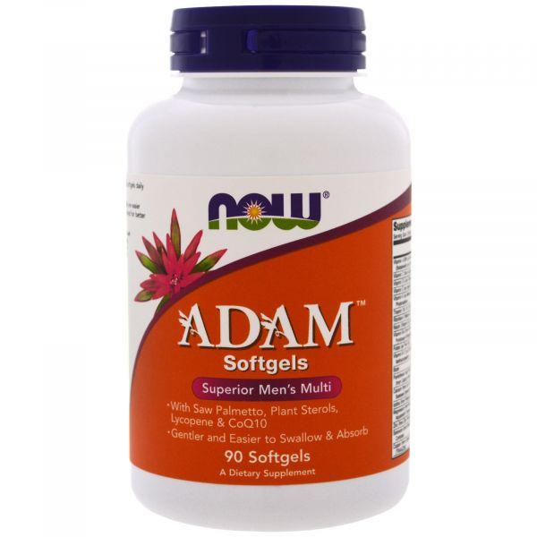 Мультивитамины для мужчин (Adam Softgels) 90 капсул