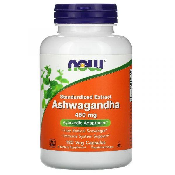 Ашвагандха экстракт корня (Ashwagandha) 450 мг 180 капсул
