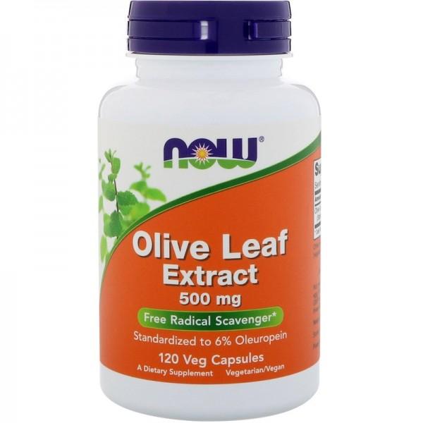 Экстракт листьев оливы (Olive Leaf Extract) 500 мг 120 капсул