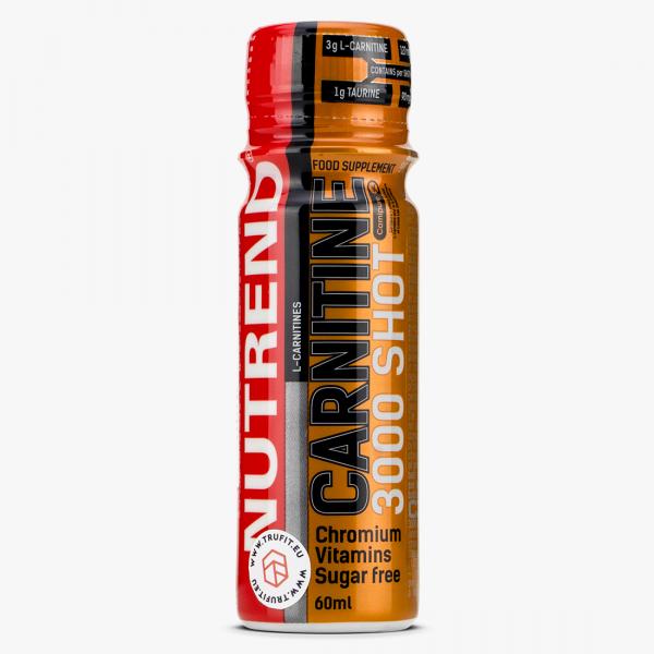 L-карнитин (Carnitine 3000 shot) 3000 мг 60 мл со вкусом клубники 1/20