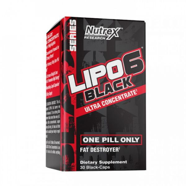 Жиросжигатель (Lipo 6 Black Ultra Concentrate) 30 капсул