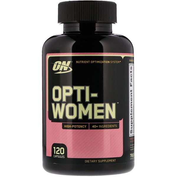 Витаминный комплекс для женщин (Opti-Women) 120 капсул