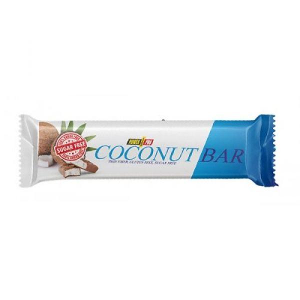 Батончик без сахара (Сoconut Bar Sugar Free) 50 г со вкусом кокоса