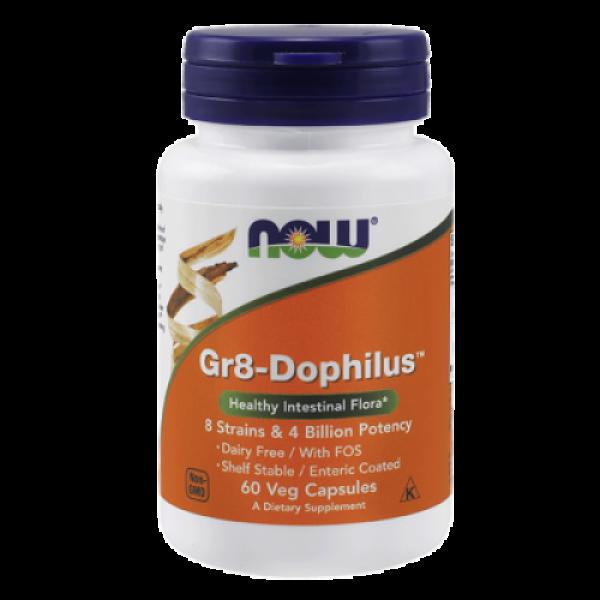 Пробиотики (Gr8-Dophilus) 4 млрд КОЕ 60 капсул
