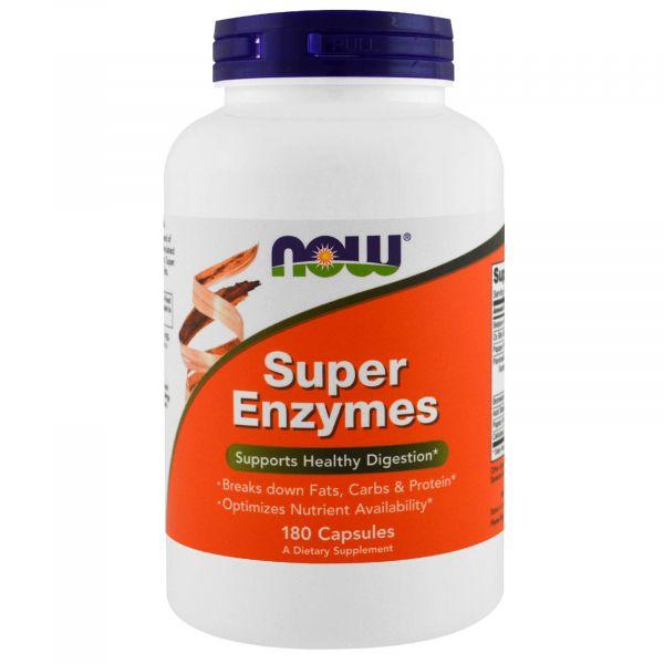 Пищеварительные ферменты (Super Enzymes) 180 капсул