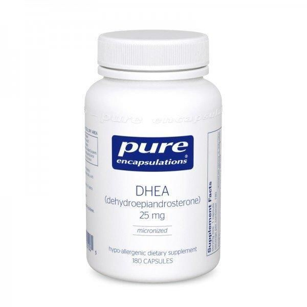 ДГЭА (DHEA) 25 мг 180 капсул