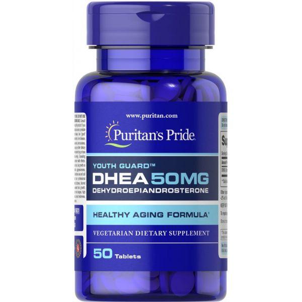 ДГЭА-Дегидроэпиандростерон (DHEA) 50 мг 50 таблеток