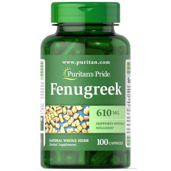 Пажитник (Fenugreek) 610 мг 100 капсул