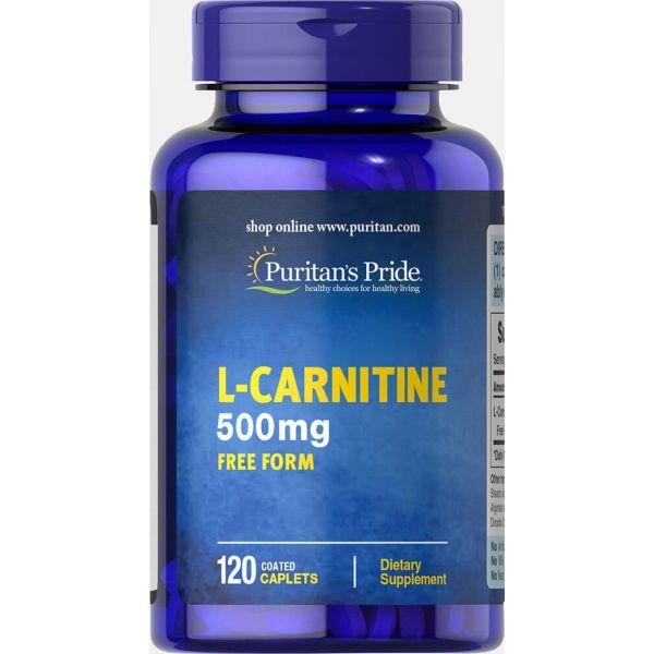 Л-карнитин L-Carnitine 500 мг 120 капсул