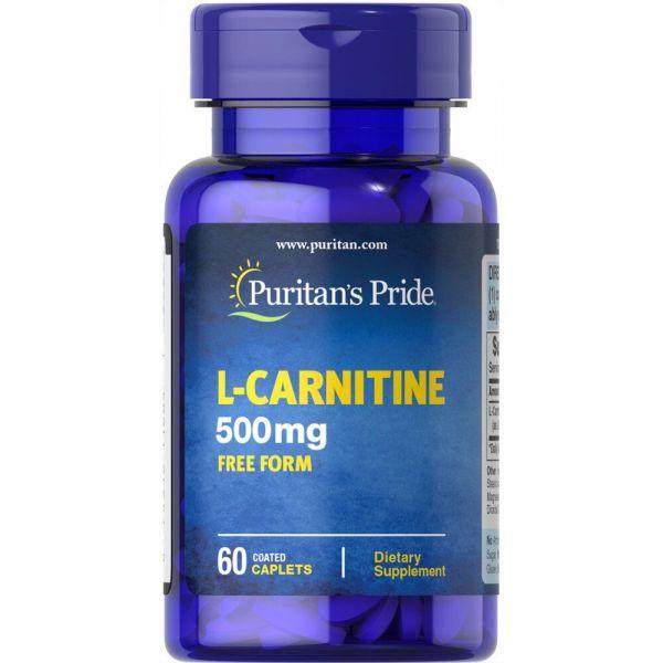 Л-карнитин L-Carnitine 500 мг 60 капсул