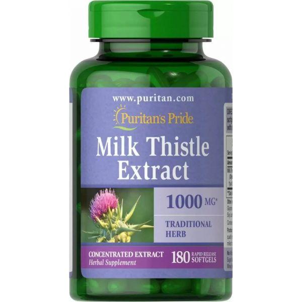 Расторопша (Milk Thistle Extract) 1000 мг 180 капсул