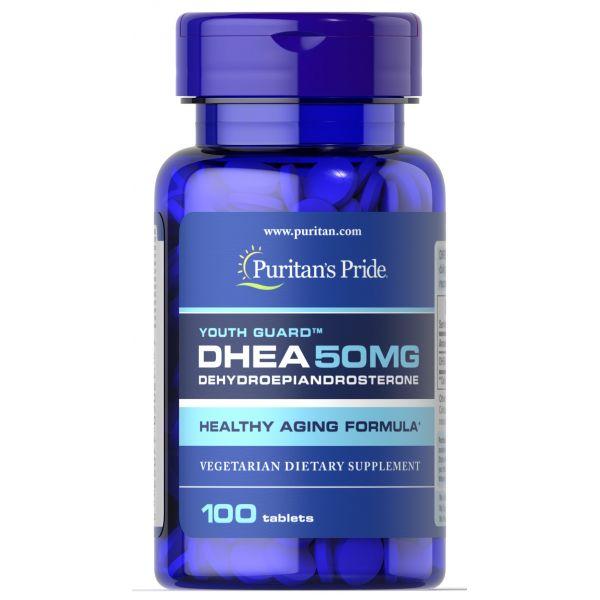 ДГЭА-Дегидроэпиандростерон (DHEA) 50 мг 100 таблеток
