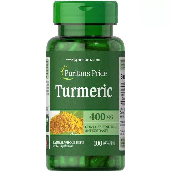 Куркума (Turmeric) 400 мг 100 капсул