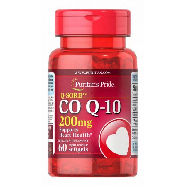 Коэнзим Q-10 (Q-SORB Co Q-10) 200 мг 60 капсул