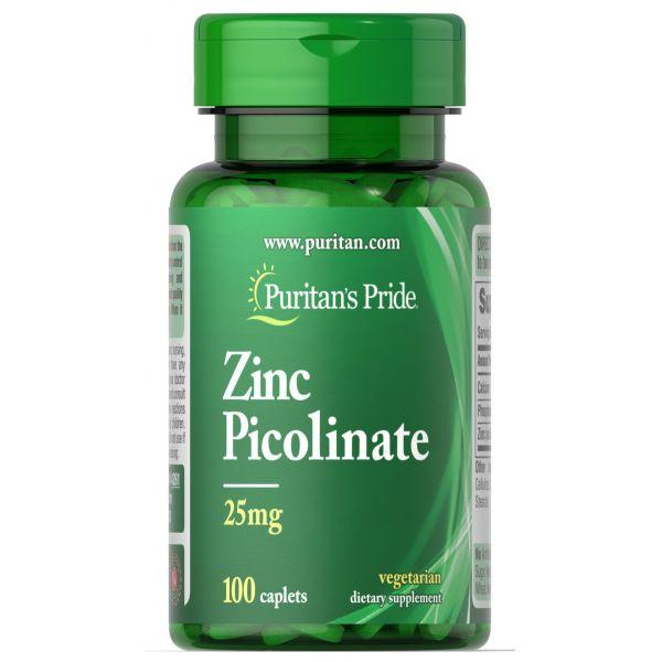 Цинк пиколинат (Zinc Picolinate) 25 мг 100 капсул