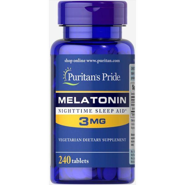 Мелатонин (Melatonin) 3 мг 240 таблеток