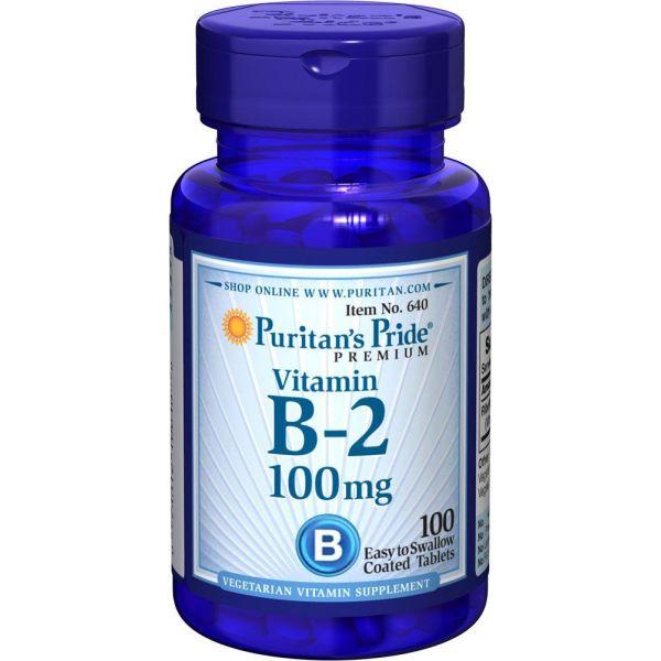 Витамин В-2 (Riboflavin) 100 мг 100 таблеток