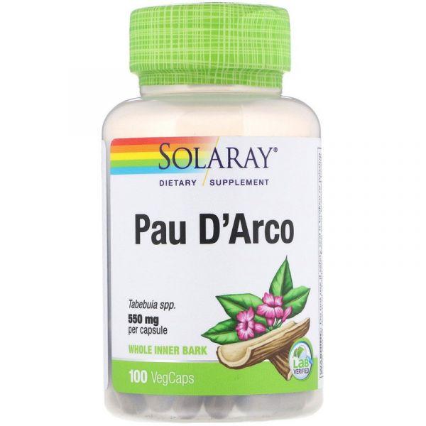 По Дарко (Pau D'Arco) 550 мг 100 капсул
