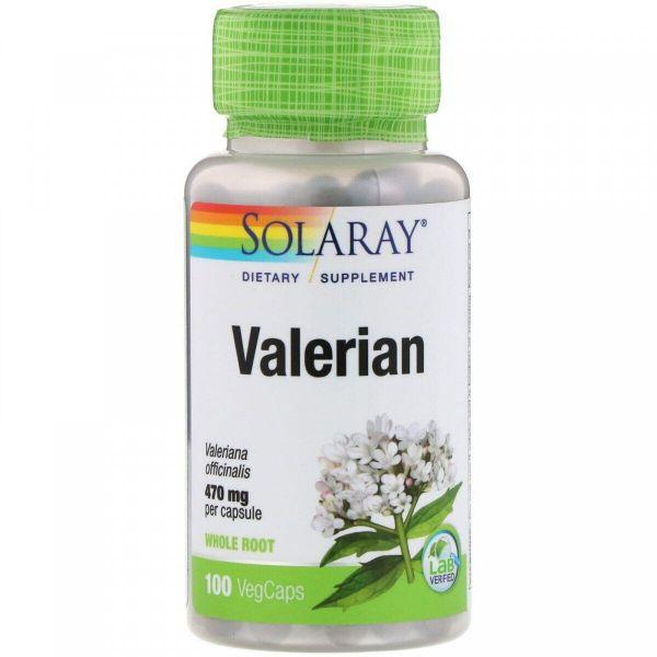 Валериана (Valerian) 470 мг 100 капсул