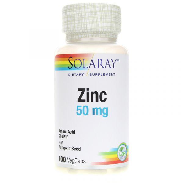 Цинк (Zinc Amino Acid Chelate) 50 мг 100 капсул