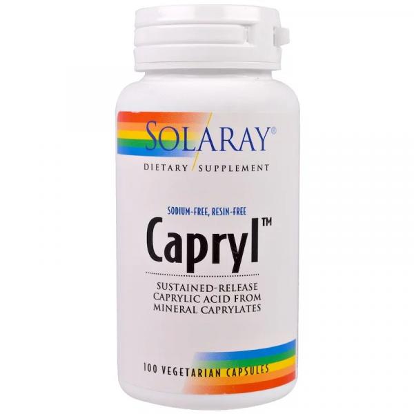 Каприловая кислота (Caprylic Acid) 360 мг 100 капсул