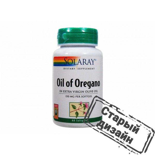 Масло орегано (Oil of Oregano) 150 мг 60 капсул
