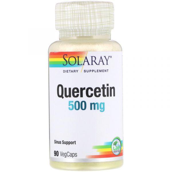 Кверцетин (Quercetin) 500 мг 90 капсул