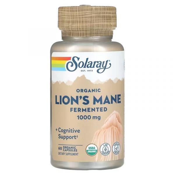 Ежовик гребенчатый ферментированный (Lion's Mane) 500 мг 60 капсул